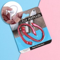 Comfortable Silicone Ear Hooks For AirPods - Red