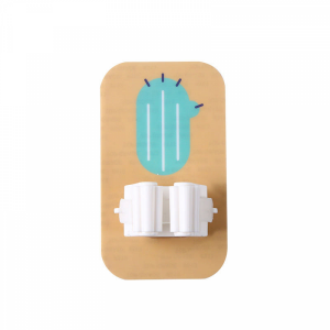 Creative Wall Adhesive Mops Holder - Khaki