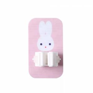 Creative Wall Adhesive Mops Holder - Pink