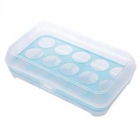 Eggs Storage Creative Rack With Lid - Blue
