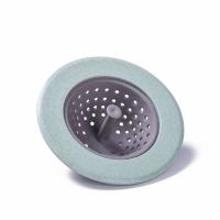 Round Kitchen Sink Drain Filter - Green