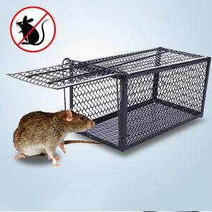 High Quality Rat Catch Mice Trap Cage - Black
