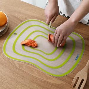 Silicon Multipurpose Kitchen Cutting Bakewear Dough Maker Mat - Yellow