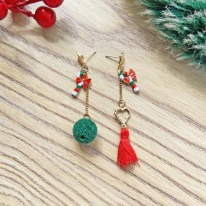 Tassel Women Fashion Gold Plated Earrings Pair