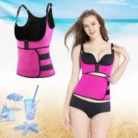 Waist Trainer Corset Slimming Body Shaper Belt - Pink