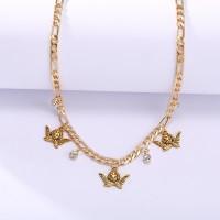 Crystal Decorative Chain Women Fashion Bracelet - Golden