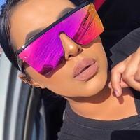 Girls Fashion Sense Of Technology Sunglasses - Pink