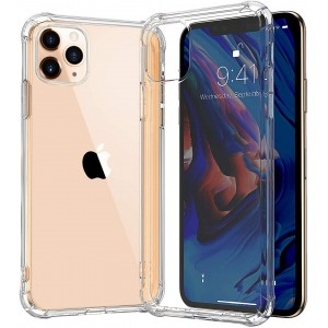 Crystal Clear Transparent Iphone New Model High Quality Anti Damage Case Cover