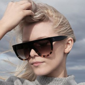 Ladies Leopard Frame Sunglasses - Leopard Brown