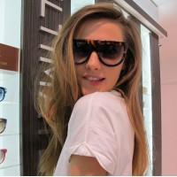 Ladies Leopard Frame Sunglasses - Leopard Multicolor