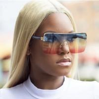 Frameless Gradient Color Technology Sunglasses  - Multicolor
