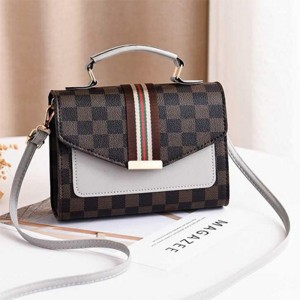 Magnetic Closure Women Fashion Messenger Bags - White
