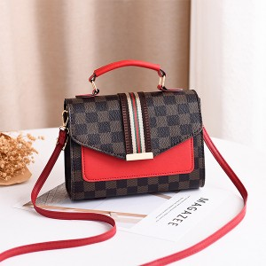 Magnetic Closure Women Fashion Messenger Bags - Dark Brown