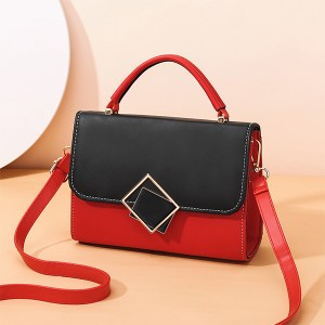 Vintage Magnetic Closure New Fashion Messenger Bags - Red