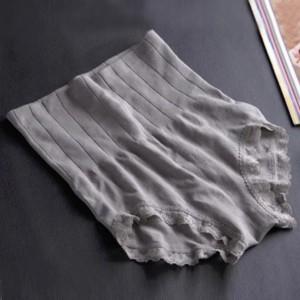 Stretchable High Waist Belly Shaper Long Underwear - Gray