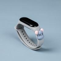 Girls Wear Silicon Strap Digital Watch - Gray