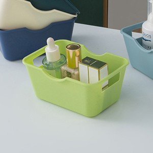 Easy Carry Table Organizer Open Boxed Storage - Green