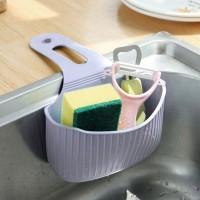 Easy Adhesive Kitchen Sink Side Rack - Light Purple