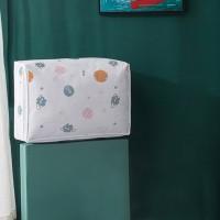 Printed Zipper Closure Blanket Storage Canvas Bags - Small