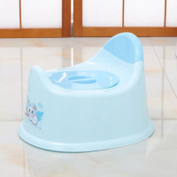 Fancy High Quality Plastic Kids Potty Seat Chair - Blue