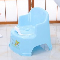Chair Shaped High Quality Plastic Kids Potty Seat Chair - Blue