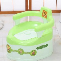 Full Covered High Quality Plastic Kids Potty Seat Chair - Green