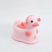 Duck Shaped Cute Kids Creative Toilet Potty Chair Seat - Pink