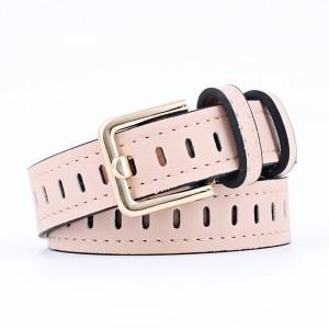 Ladies Fashion Casual Wide Belt - Pink