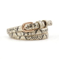 Girl Snakeskin Fashion Wild Belt - Golden
