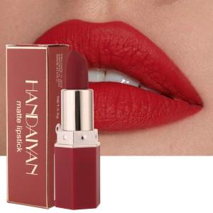 Ladies Matte Long Lasting Lipstick - Scarlet