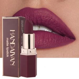Ladies Matte Long Lasting Lipstick - Plum