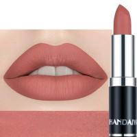Ladies Matte Velvet Matte Nourishing Lipstick - Light Red