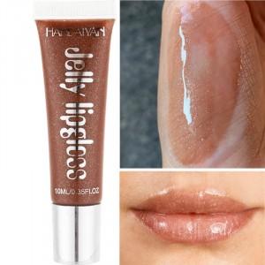 Girls Candy color Nourishing Lip Gloss - Coffee