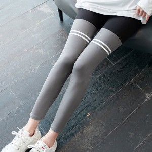 Narrow Bottom Body Fitted Sexy Wear Trousers - Gray