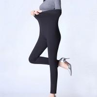 Narrow Bottom Bodyfitted Sexy Wear Trousers - Black