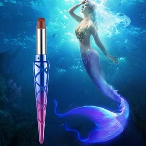 Mermaid Vitamin E Matte Color Preserving Lipstick - Dark Red