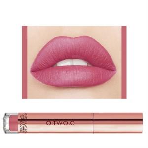 Ladies Fashion Long Lasting Matte Liquid Lip Gloss - Barbie Pink