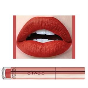Ladies Fashion Long Lasting Matte Liquid Lip Gloss - Scarlet Red