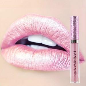 Non Stick Mermaid Pearly Shiny Lip Gloss - Barbie Pink