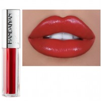 Girls Velvet Matte Cream Nourishing Lip Gloss - Red