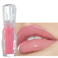 Moisturizing Mint Crystal Jelly Color Toot Lip Gloss - Barbie Pink
