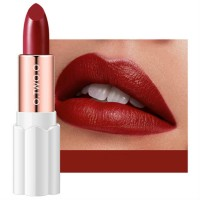 Womens Matte Plum Blossom Lipstick - Dark Red