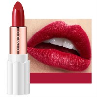 Womens Matte Plum Blossom Lipstick - Blood Red