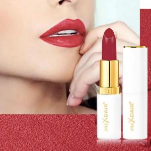 Girls Fashion Velvet Matte Lipstick - Rose Bean Paste