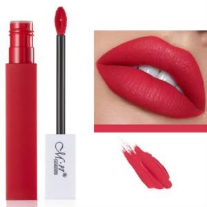 Womens Fashion Retro Matte Lip Gloss - Rose Bean Paste