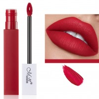 Womens Fashion Retro Matte Lip Gloss - Blood Red