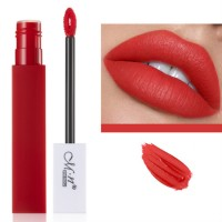 Womens Fashion Retro Matte Lip Gloss - Maple