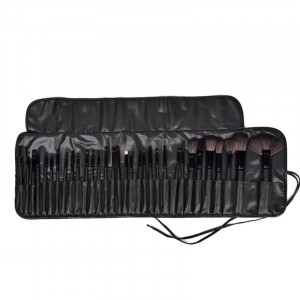 Thirty Two Pieces Makeup Brushest Set - Black