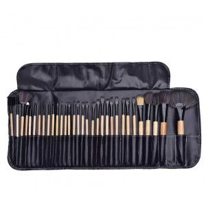 Thirty Two Pieces Makeup Brushest Set - Brown