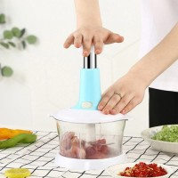 Multi Function Grinder Fruit And Vegetable Cutter Chopper - Sea Green